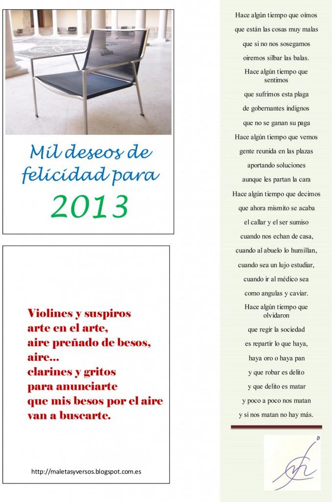 WMil deseos de felicidad para 2013