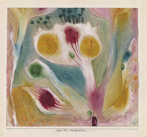 Flor tropical, 1920. Paul Klee. Fundación Juan March