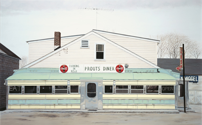 Prout's diners, 1974 John Baeder
