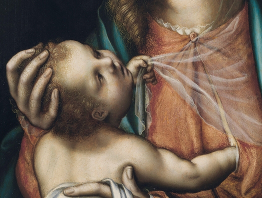 Rec Virgen con el Niño Lusi de Morales Prado peq