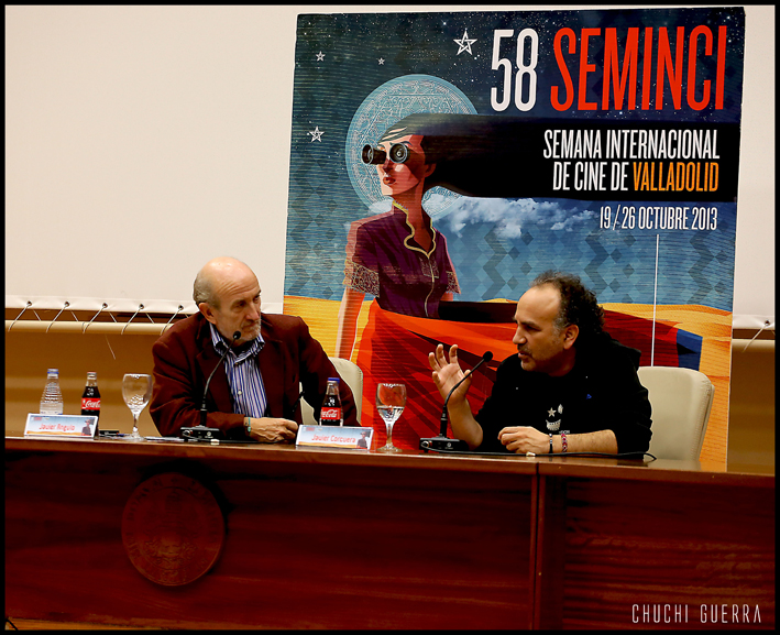 Javier Corcuera con Javier Ángulo
