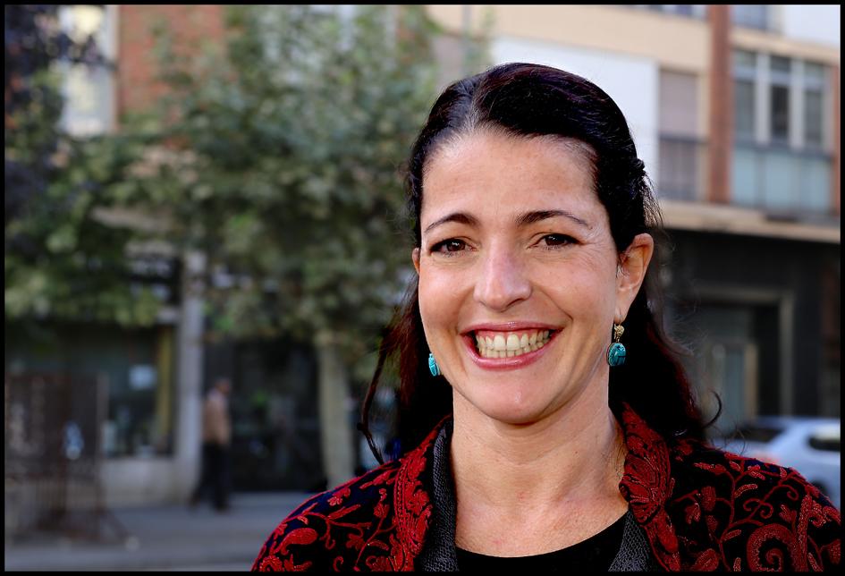 La actriz Nora Navas