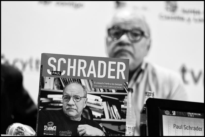 Paul Schrader. Foto: Chuchi Guerra
