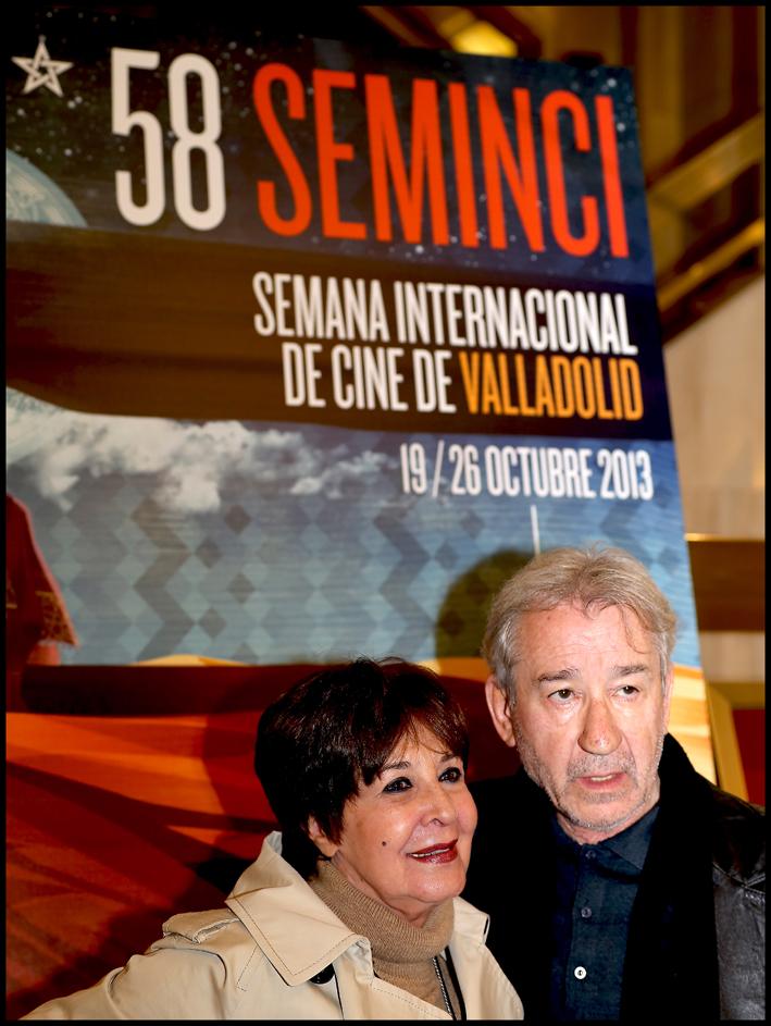 Concha Velasco y José Sacristán