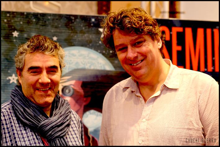 Con el director Diederick Ebbinge