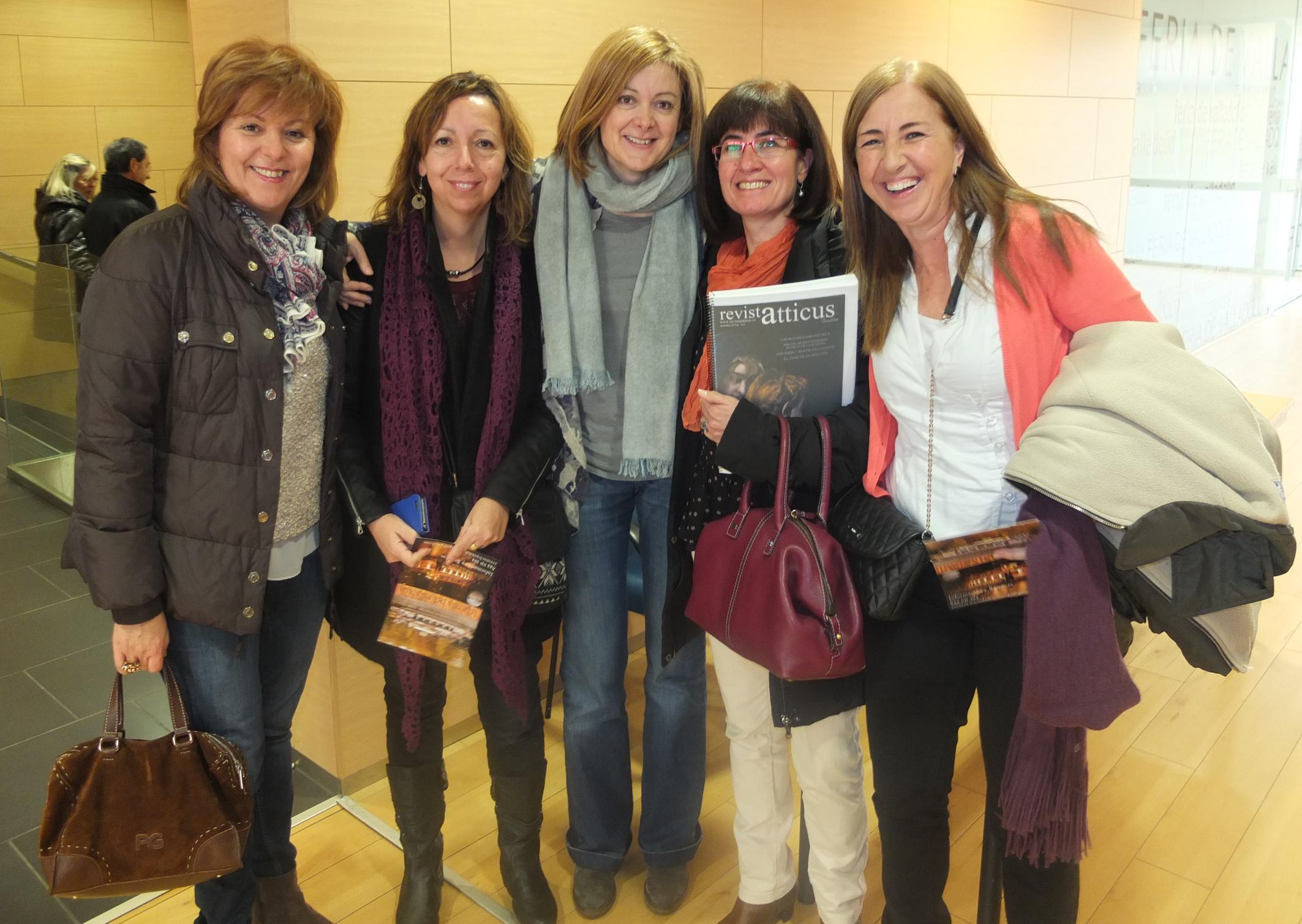 Chicas Atticus con Pepa Fernandez