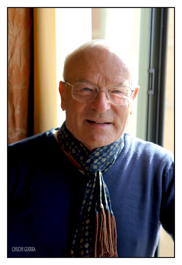 Volker Schlöndorff a su paso por la SEMINCI. Foto: Chuchi Guerra
