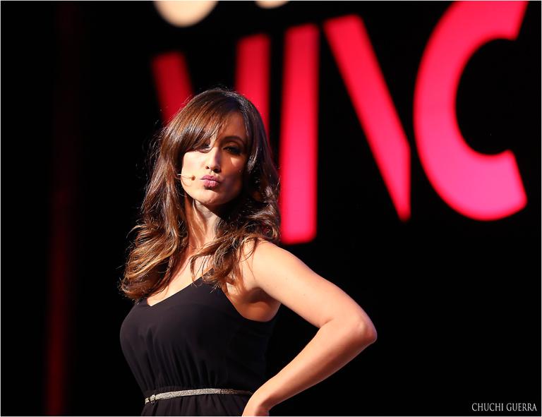 Ana Morgade, presentadora de la gala