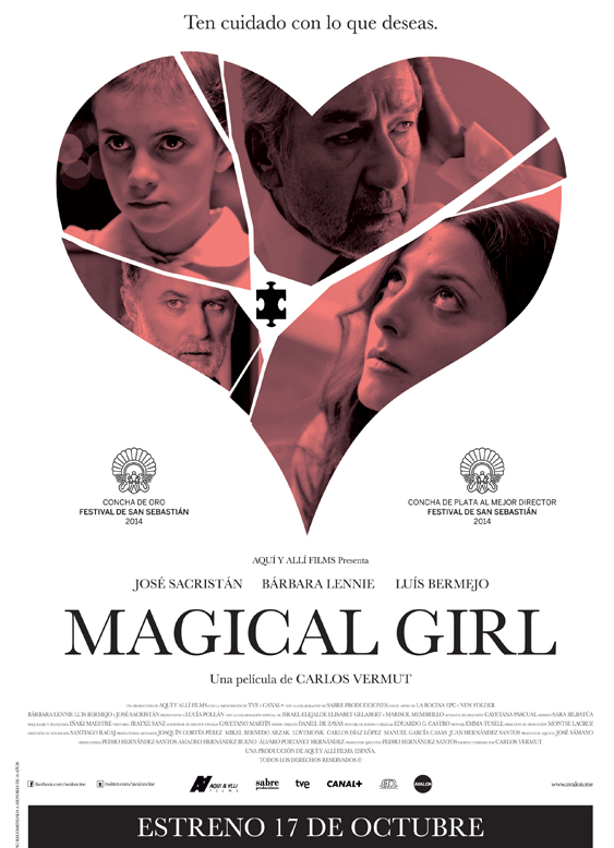 WMAGICAL GIRL - poster