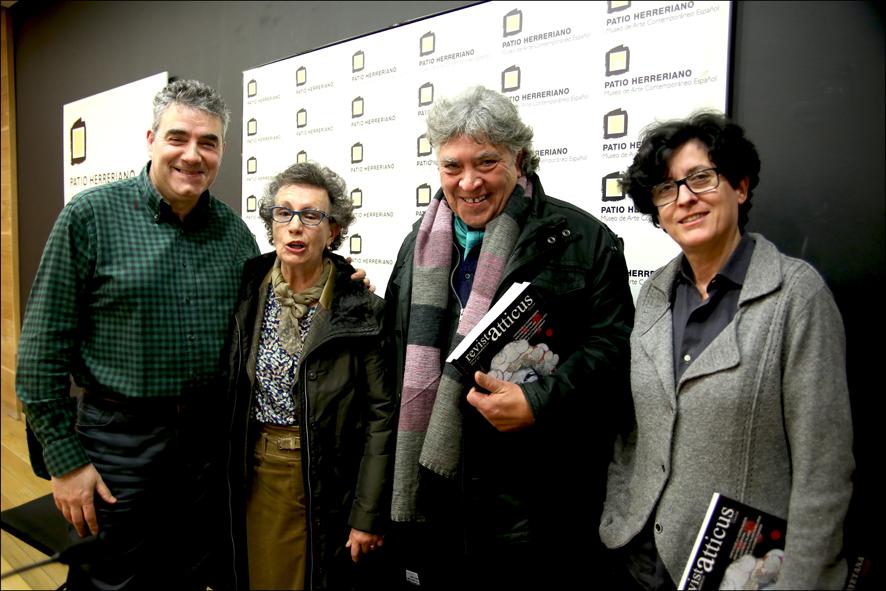 Luisjo Cuadrado, Inés Gutiérrez-Carbajal, Arturo Lucas y Carmen Isasi