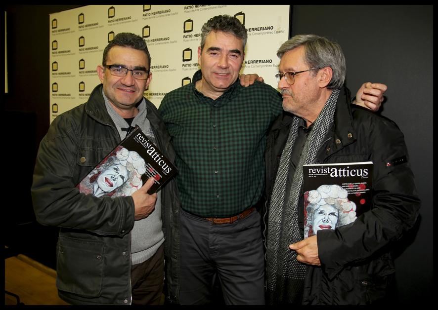 Fernando Carrión, Luisjo Cuadrado y Alfredo Castro