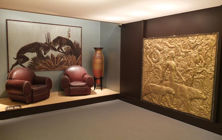 Recreación de un ambiente art decó en la Fundación Juan March
