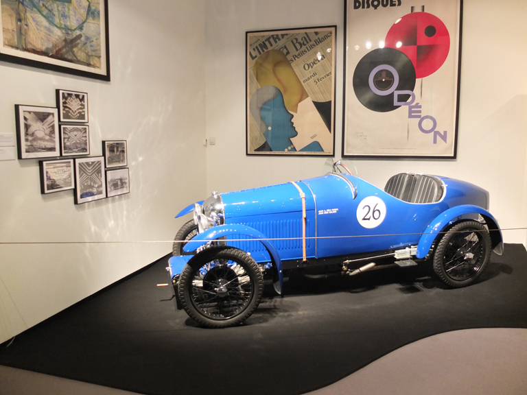 Coche deportivo Amilcar de 1926