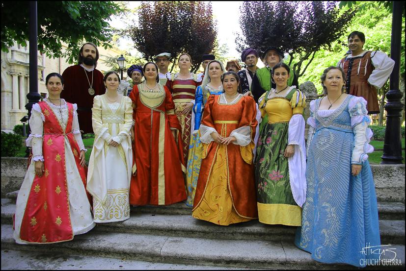 Miembros de la agrupación musical Il buon tempo