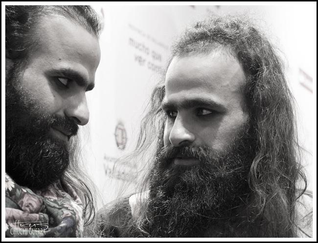 Tarzan y Arab Nasser, directores de la película palestina Degradé