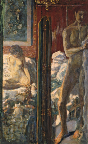 El hombre y la mujer, 1900 Óleo sobre lienzo, 115 × 72,3 cm París, Musée d'Orsay © musée d'Orsay, Dist. Rmn-Grand Palais / Patrice Schmidt © Pierre Bonnard, VEGAP, Madrid, 2015