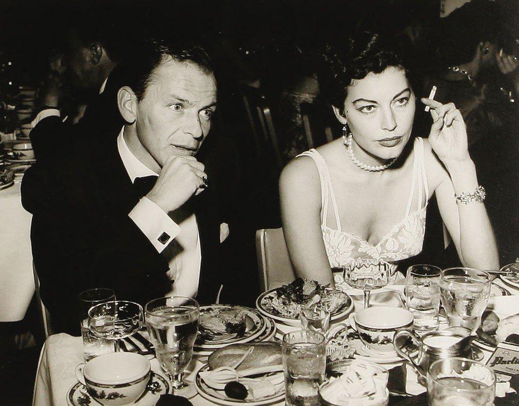 Ava Gadner y Frank Sinatra, una de las parejas más atractivas del cine