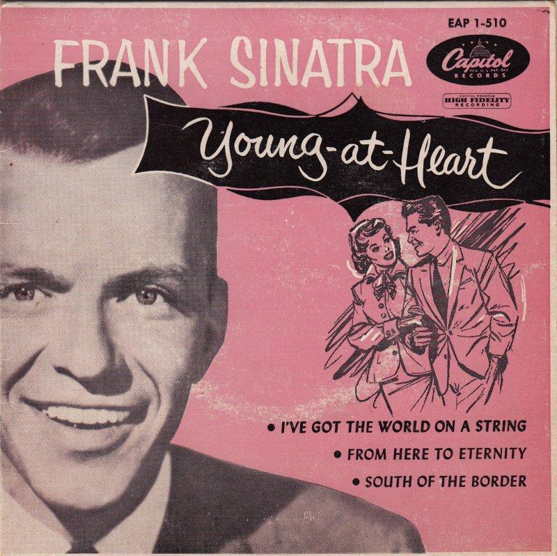 Carátula disco  con el tema Young anf Heart