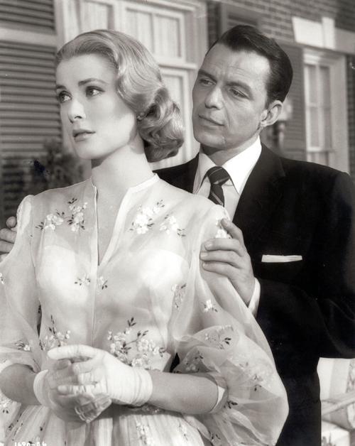Grace Kelly junto a Frank Sinatra en  Alta sociedad (Charles Walter, 1956)