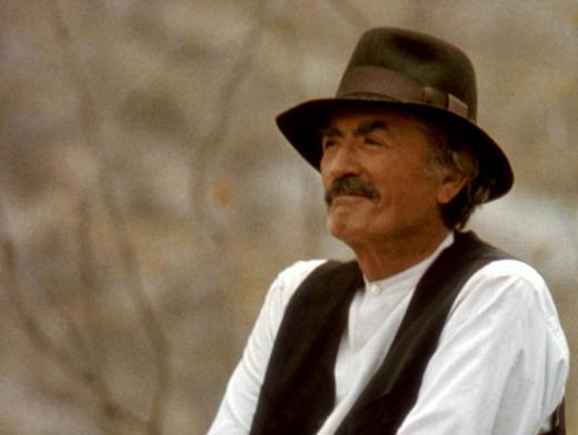 Gregory Peck en Gringo viejo, 1989, una de sus últimas películas