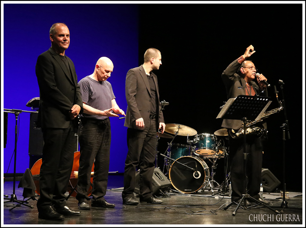 Ernie Watts Quartet. Fotografía: Chuchi Guerra