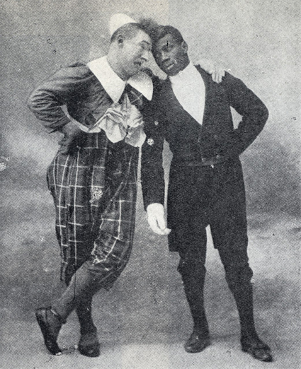 Chocolat y Footit a principios del siglo XX