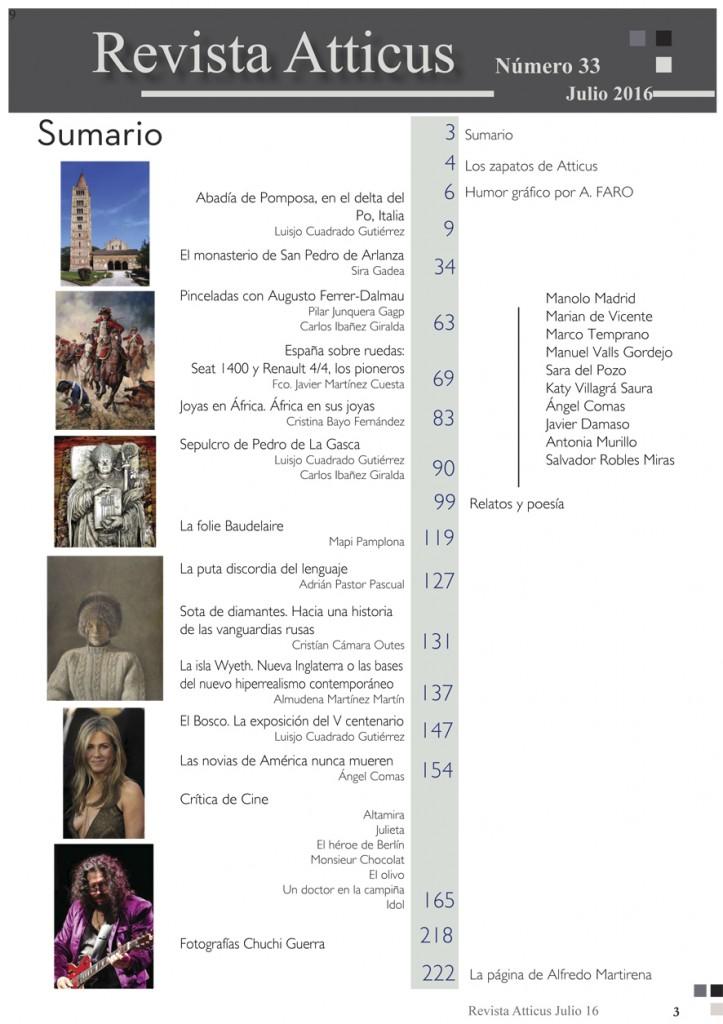 Revista Atticus 33.indd