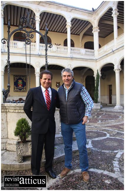 Alejandro Tudela y Luisjo Cuadrado