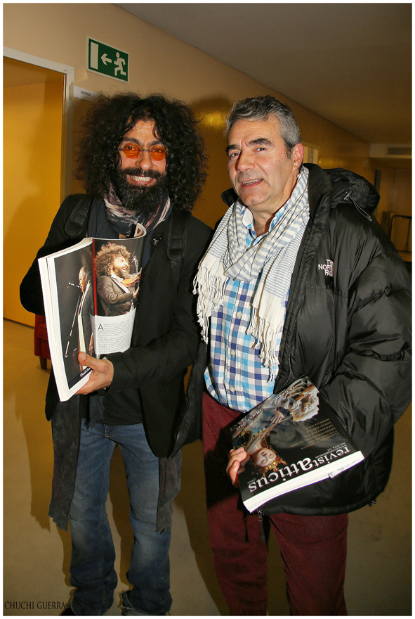 Ara Malikian y Luisjo Cuadrado