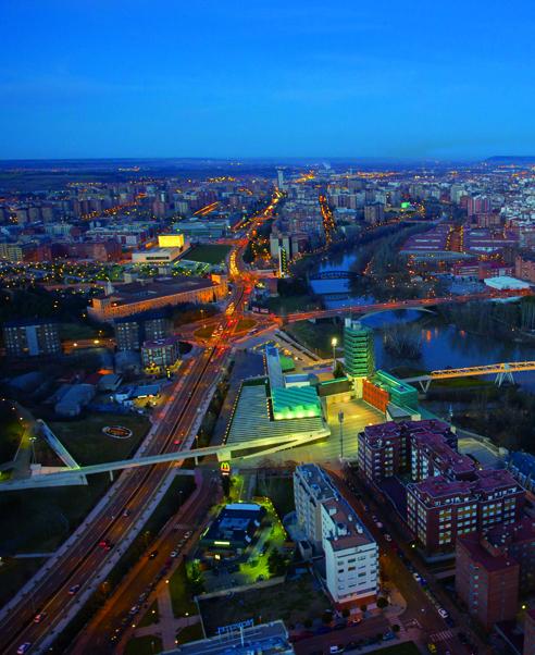 Vista aérea de Valladolid. Foto: Jason Hawkes